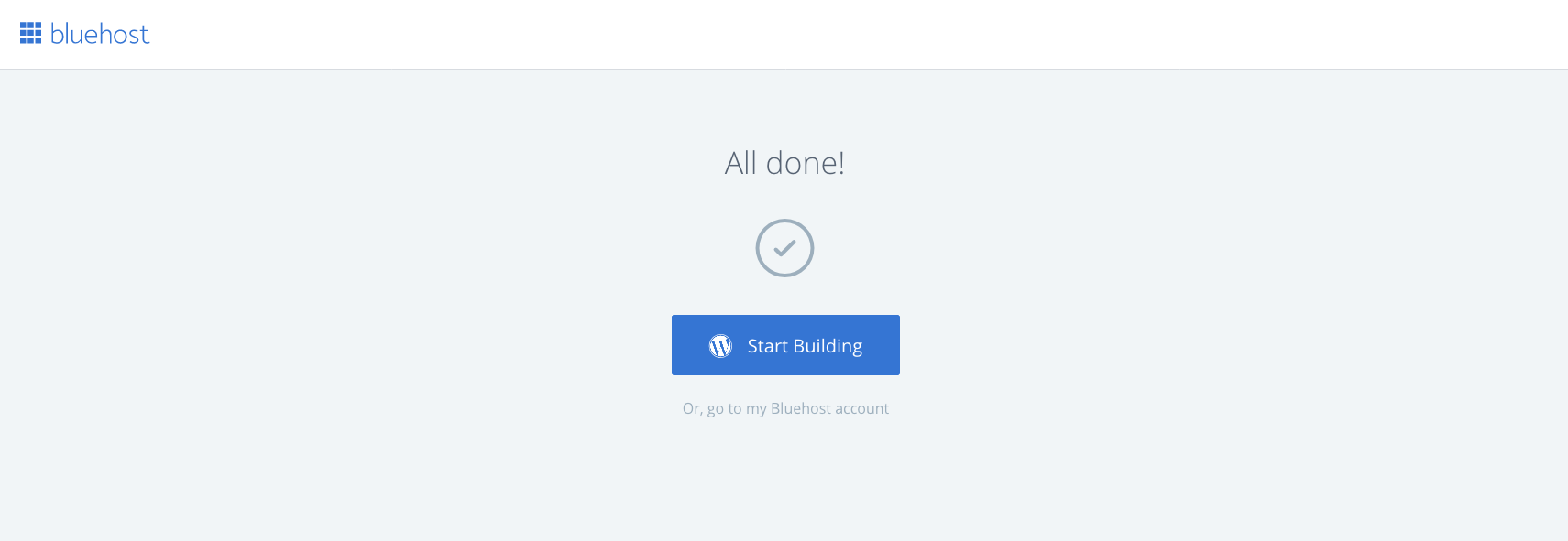 Login to WordPress Dashboard on Bluehost