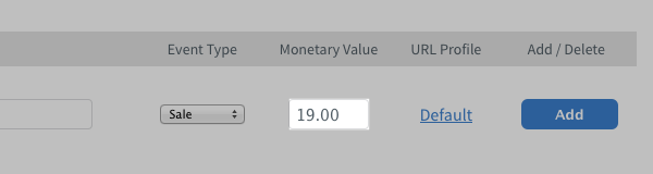 AWeber Monetary Value