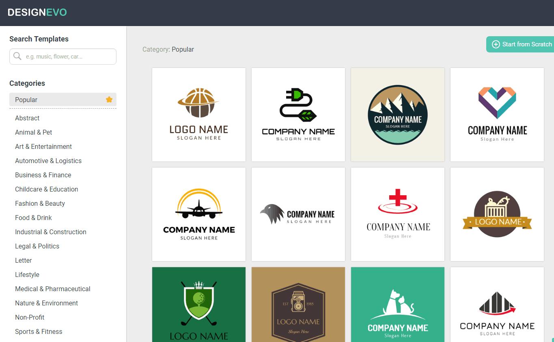 Designevo Review Best Free Online Logo Maker