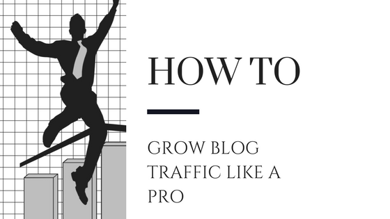 How to increase blog traffic like a pro