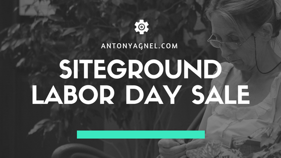 SiteGround Labor Day Sale - Up to 70% Off Web Hosing