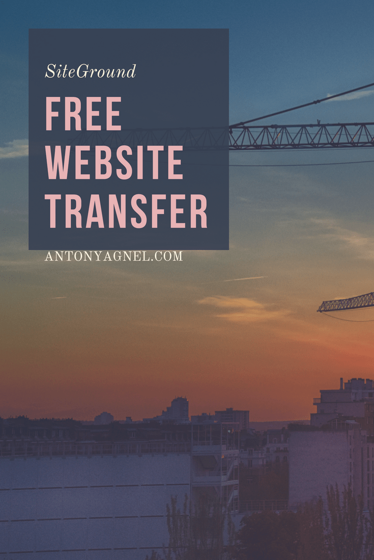 SiteGround Free Website Transfer Offer (Promo)