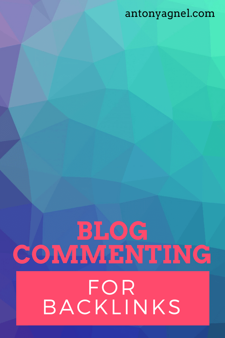 Blog commenting for backlinks and SEO
