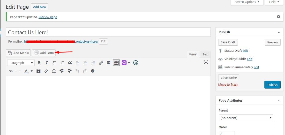 add new wpforms using shortcode