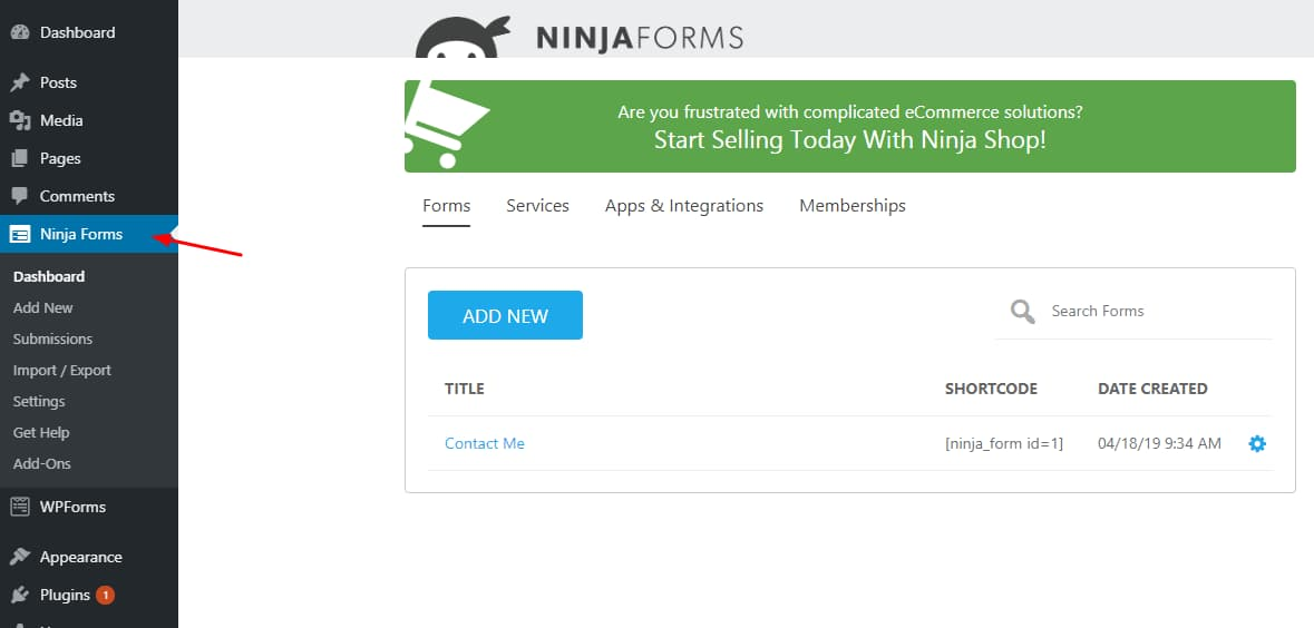 WPForms vs Ninja Forms (2019) Side–by–Side Review