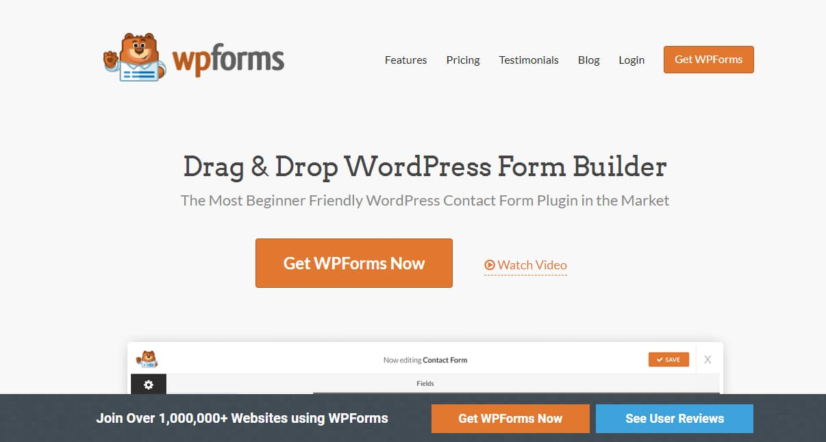 wpforms wordpress forms plugin