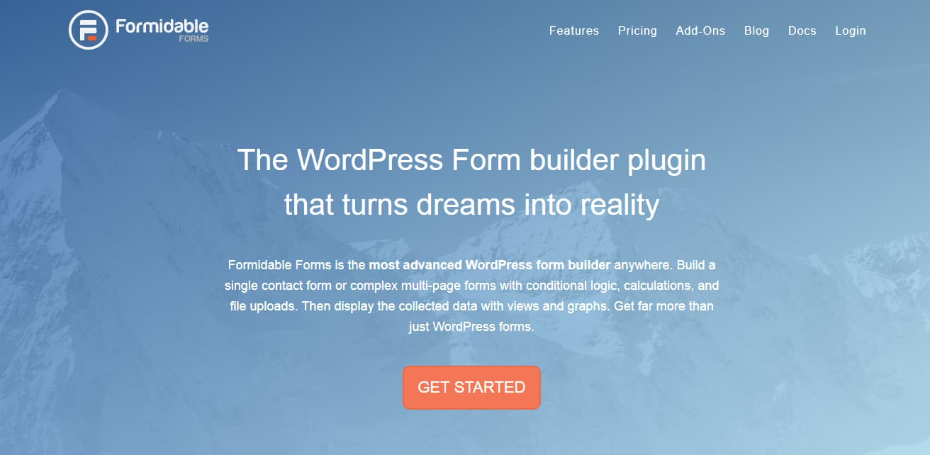 formidable forms - form builder plugin