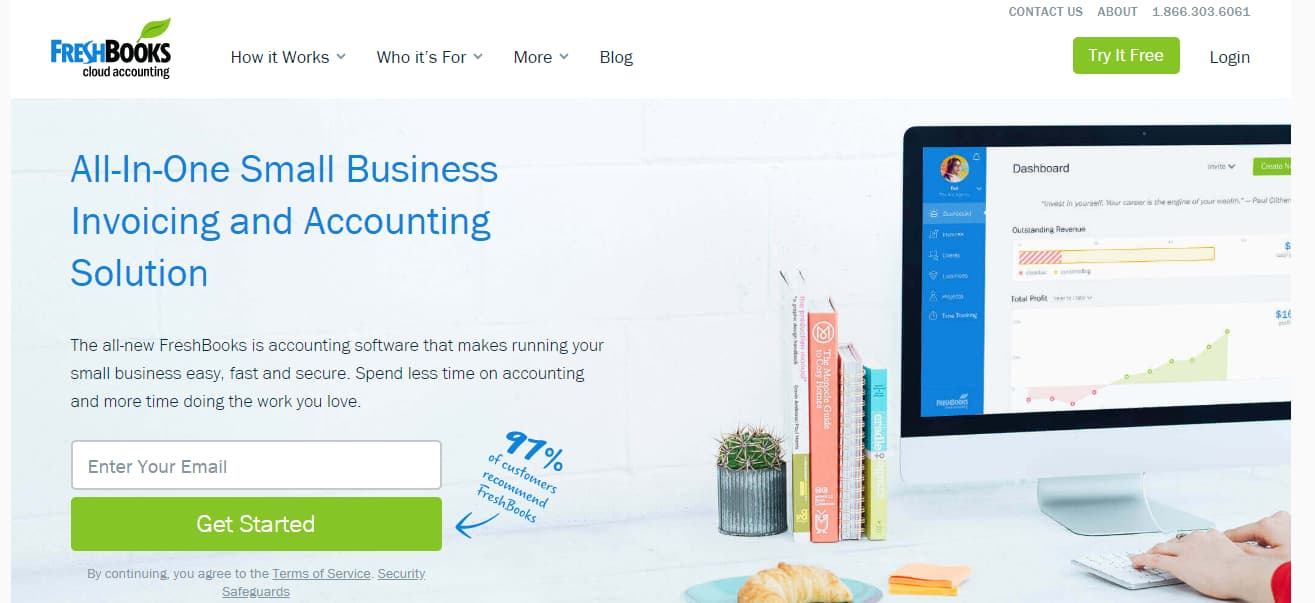 freshbooks invoicing and accounting software