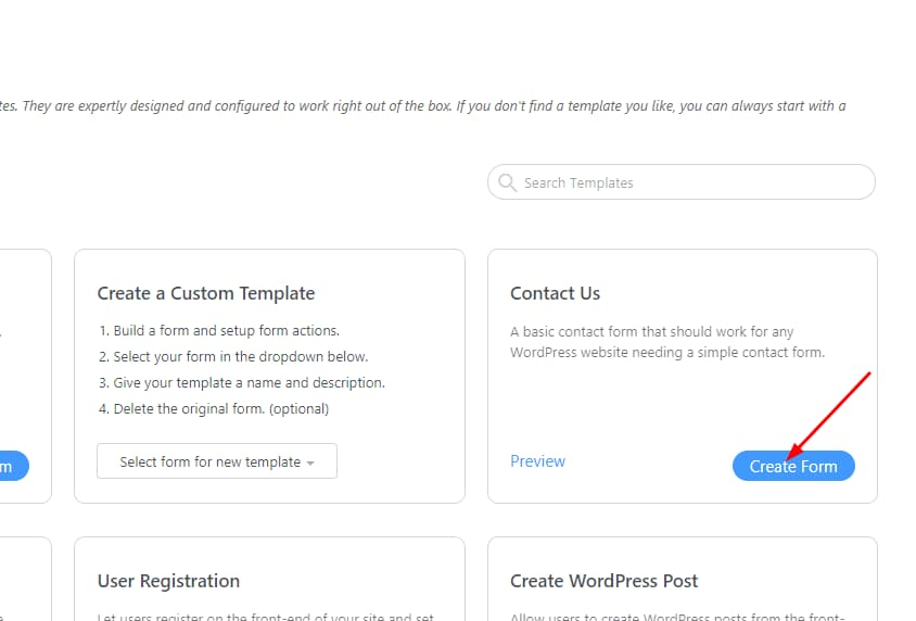 create contact form using formidable forms