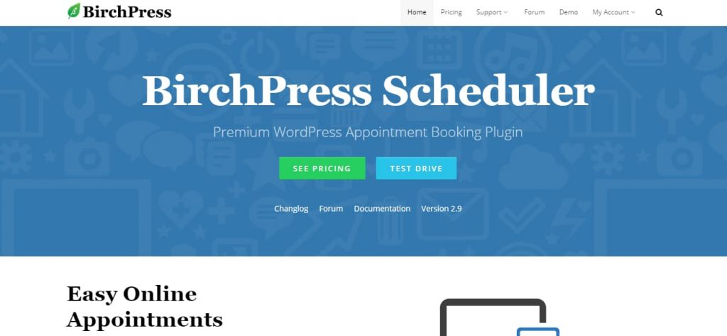 birchpress - wordpress appointment booking plugin