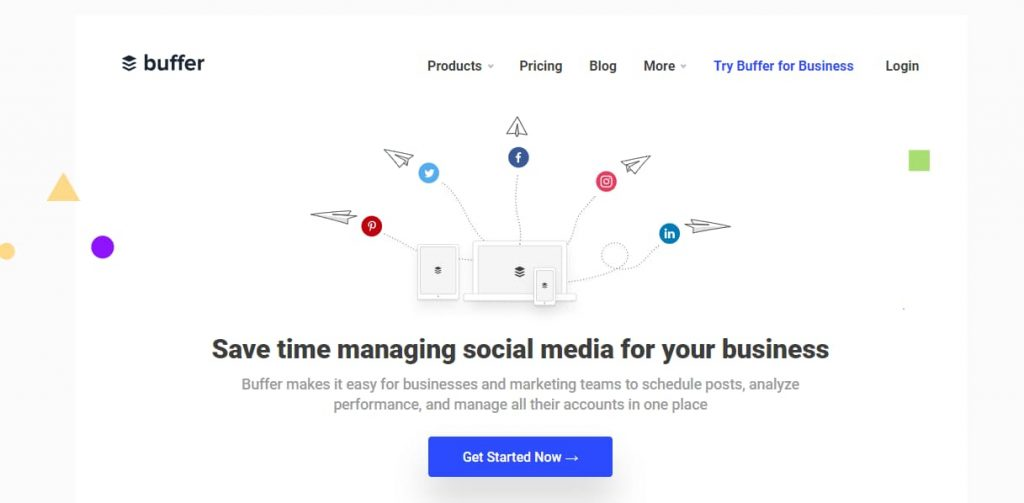 buffer - social media management and marketing software for growing brands