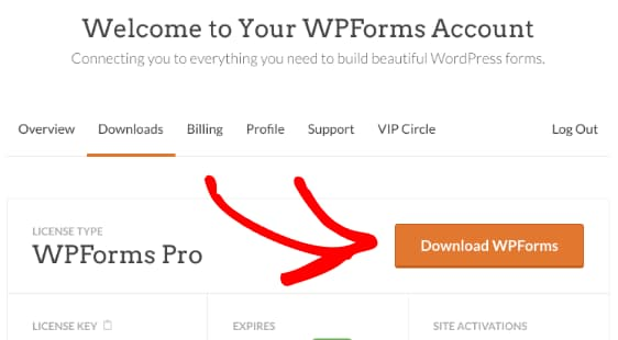 download wpforms pro