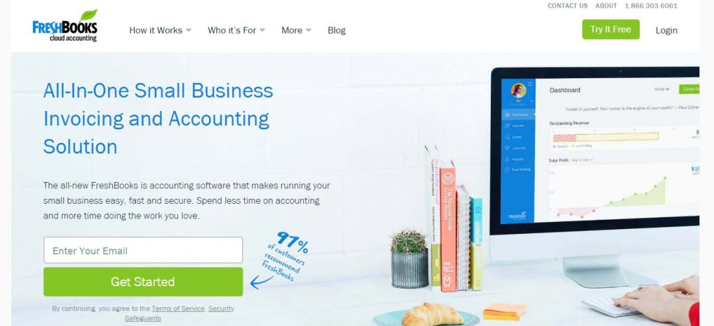 freshbooks - invoicing and accounting software for small businesses