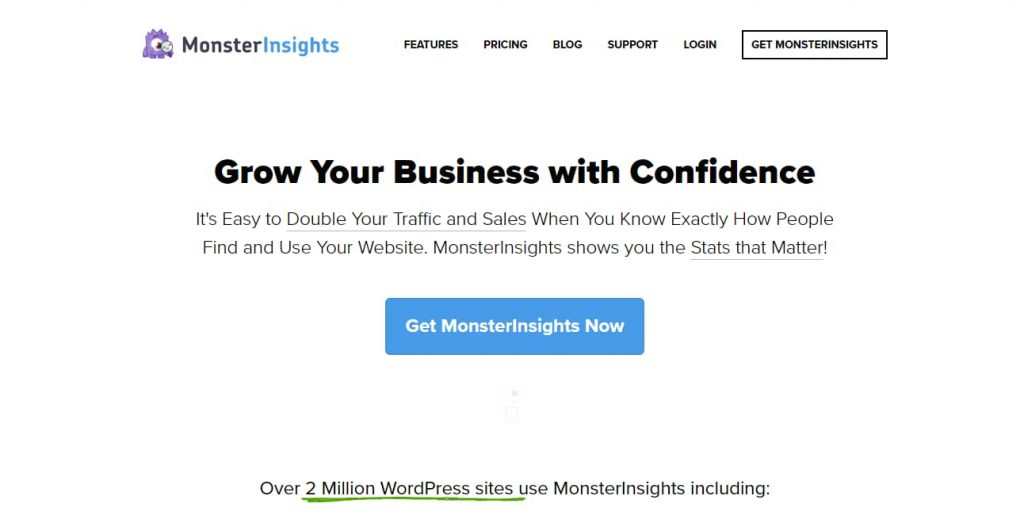 monsterinsights google analytics wordpress dashboard plugin