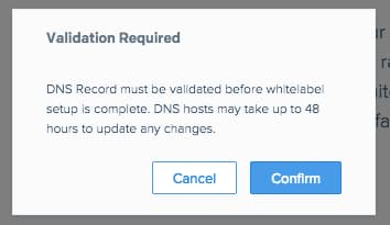 sendgrid dns records validation