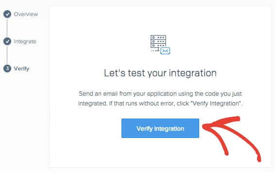 verify sendgrid integration