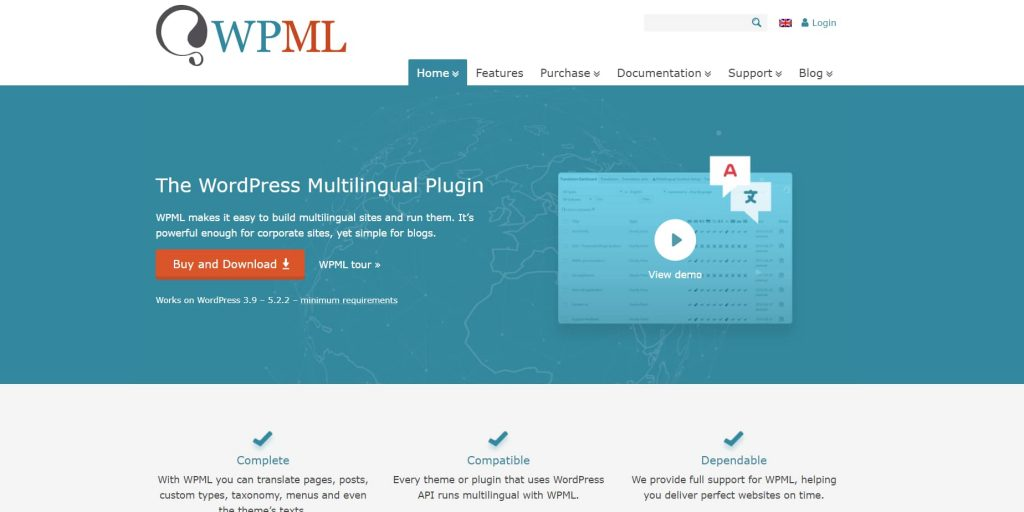 wpml - wordpress multilingual plugin