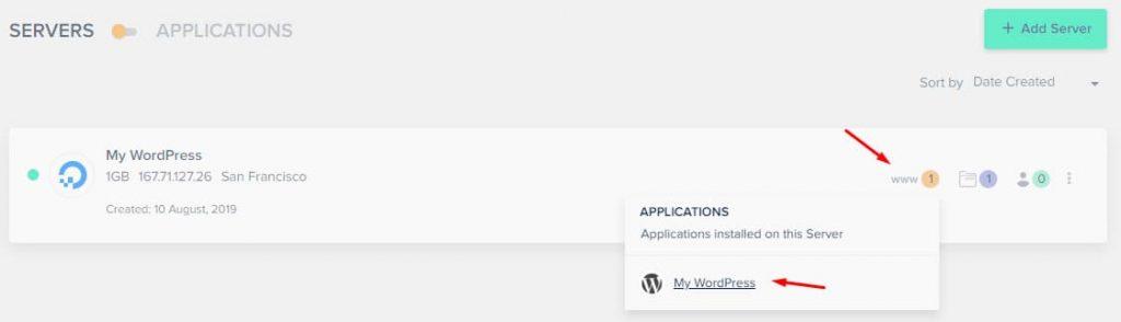 Managing WordPress Application On Cloudways