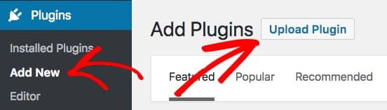 upload wpforms pro plugin manually