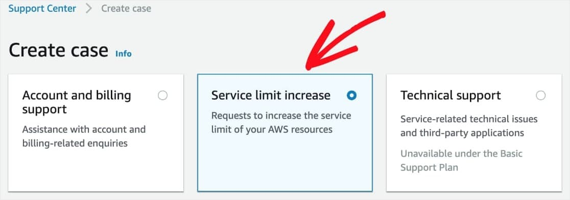move amazon ses from sandbox mode to production mode by requesting service limit increase