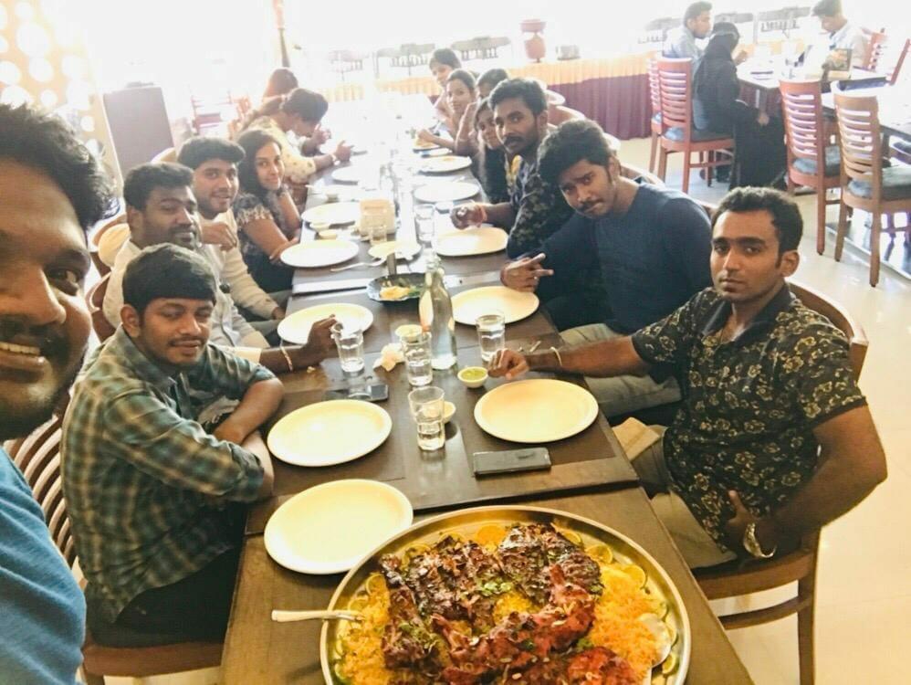 At Palmshore Restaurant, Ashok Nagar