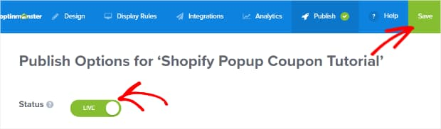 publish checkout campaign on woocommerce
