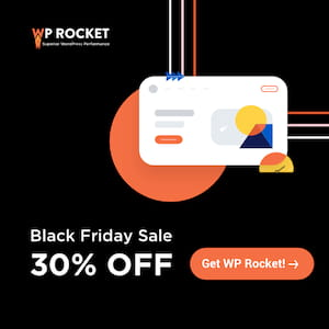 wp rocket black friday sale