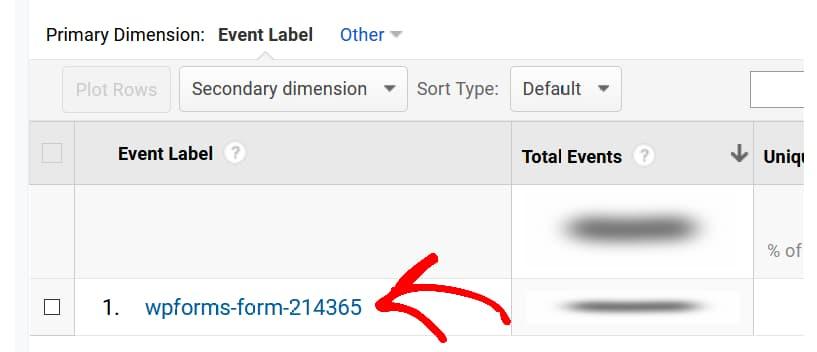 event label track form conversion sources